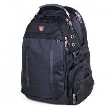 Мужской рюкзак для города черный 35 литров class=