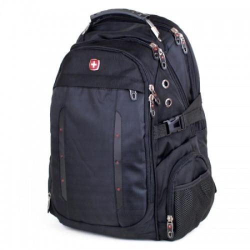 Мужской рюкзак Swissgear черный 35 литров