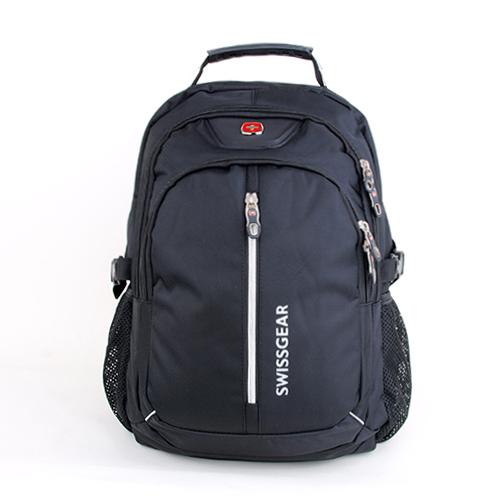 Подростковый рюкзак SwissGear на 32 литра чёрного цвета
