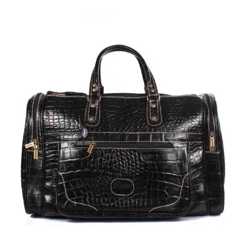 Стильная дорожная сумка мужская натуральная кожа