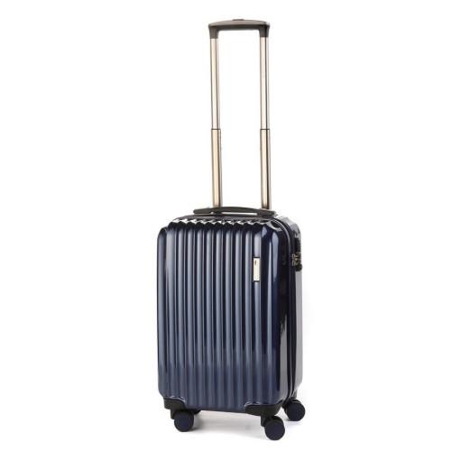 Маленький пластиковый чемодан Sumdex SWR-723NB на четырех колесах синий