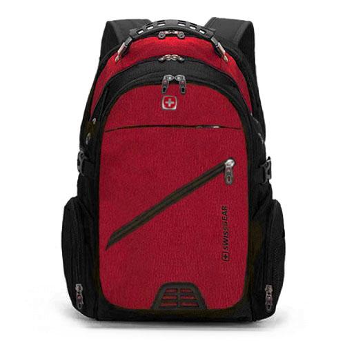 Красный мужской рюкзак для города