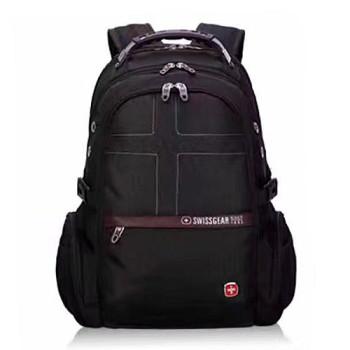 Черный рюкзак для мужчины с аудио и USB входом 32 литра class=