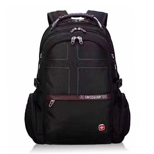 Черный рюкзак для мужчины с аудио и USB входом 32 литра