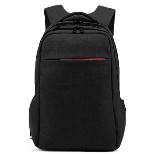 Практичный черный городской рюкзак Tigernu на два отделения