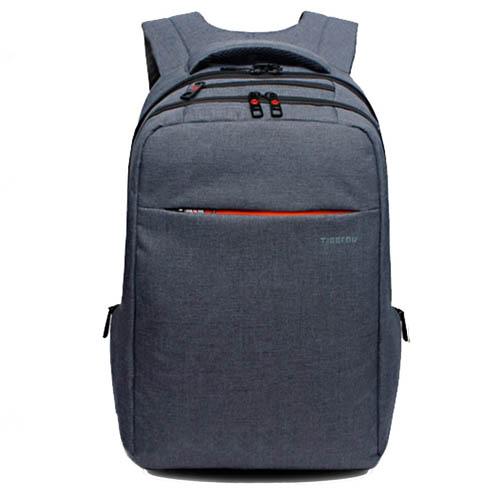 Серый рюкзак Tigernu для ноутбука и гаджетов в стиле винтаж