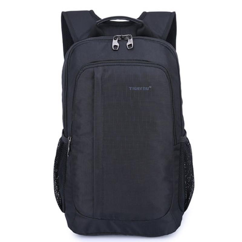 Черный компактный городской рюкзак Tigernu с отделение для ноутбука