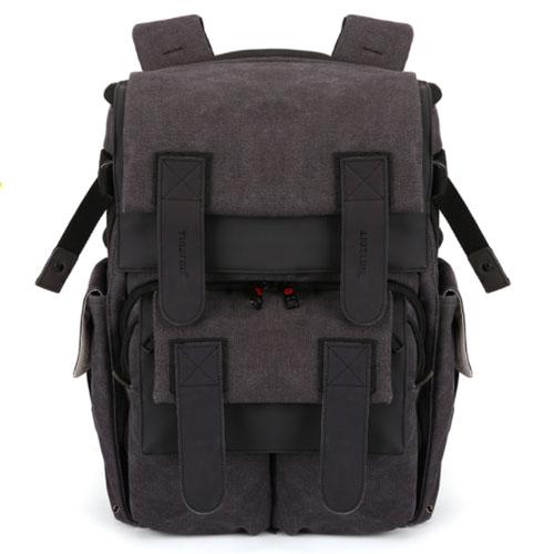 Практичный черный фото рюкзак Tigernu для камеры
