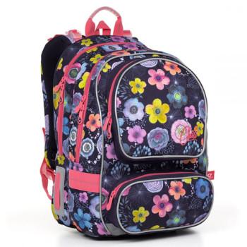 Школьный рюкзак с двумя передними карманами для девочек class=