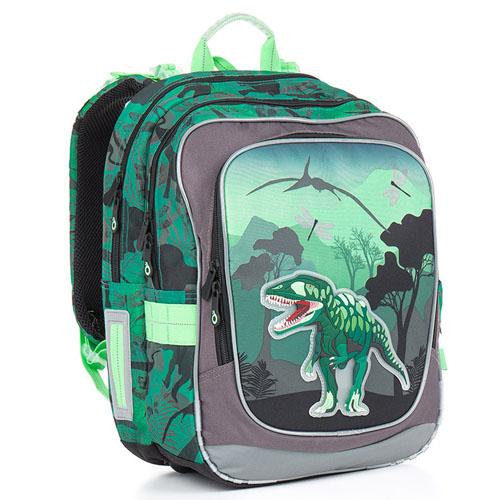 Школьный рюкзак с ярким 3D рисунком в виде тираннозавра