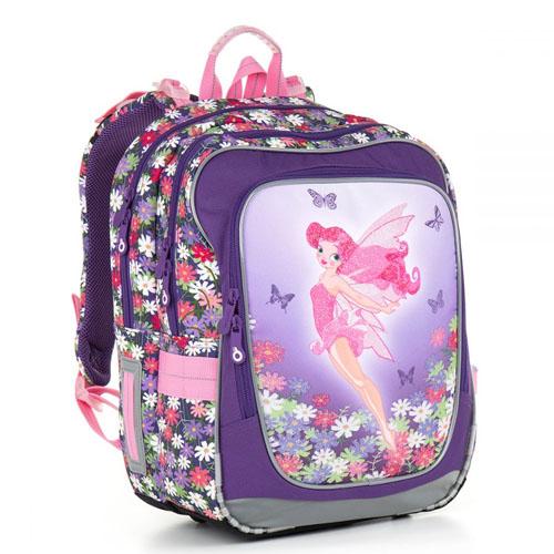 Лёгкий двухкамерный школьный рюкзак для маленькой феи