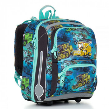 Школьный рюкзак с ортопедической спинкой для мальчика начальных классо class=