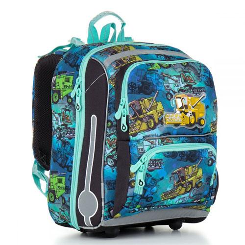 Школьный рюкзак с ортопедической спинкой для мальчика начальных классов