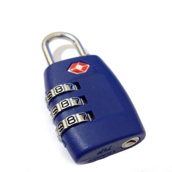 Кодовый замок с функцией TSA синий class=