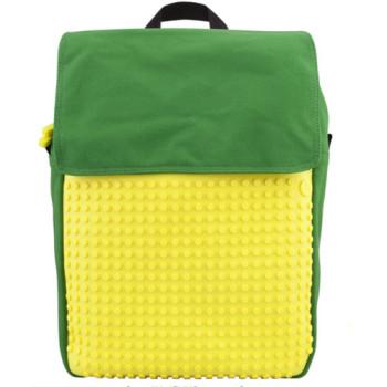 Рюкзак для школьника от Upixel Fliplid Зелено-желтый class=