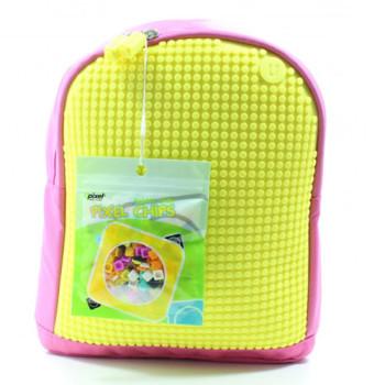 Детский рюкзак для принцесс Upixel Junior Розово-желтый class=