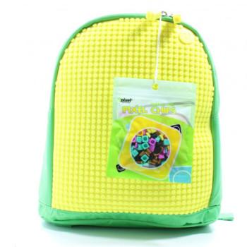 Детский прочный рюкзак Upixel Junior Зелено-желтый class=