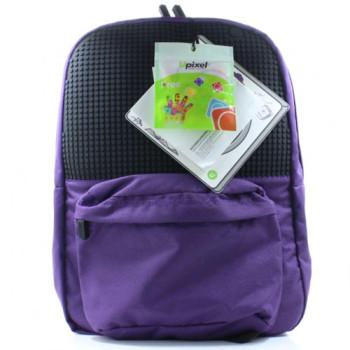 Рюкзак школьный для подростка Upixel School Сиреневый class=