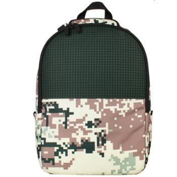 Молодежный рюкзак Upixel Camouflage Зелено-коричневый class=