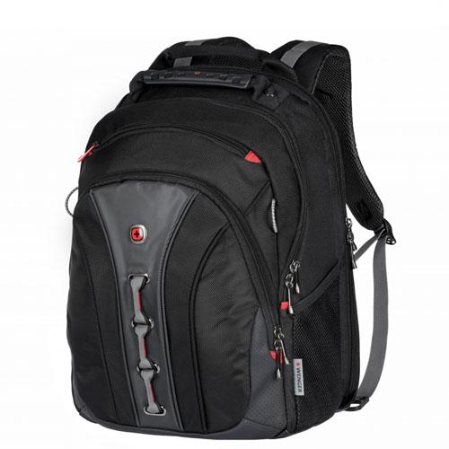Черный городской рюкзак Wenger Legacy для ноутбука до 16 дюймов