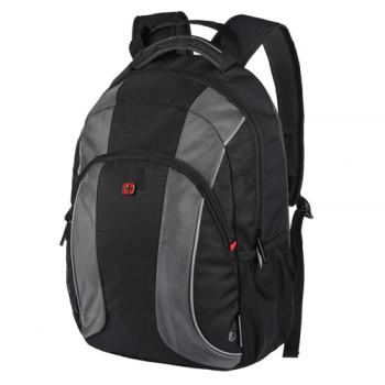 Черный городской рюкзак Wenger Mercury для ноутбука 16 дюймов class=