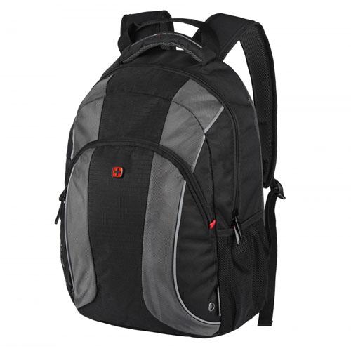 Черный городской рюкзак Wenger Mercury для ноутбука 16 дюймов