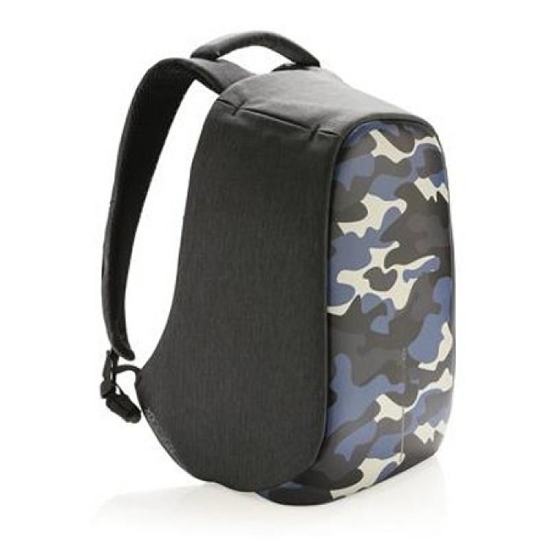 Синий рюкзак XD Design Bobby Compact Camouflage против краж
