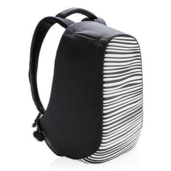 Рюкзак против краж XD Design Bobby Compact Zebra class=