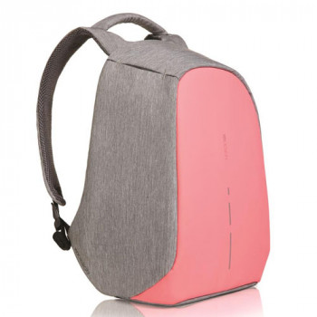Женский рюкзак антивор XD Design Bobby Compact розовый class=