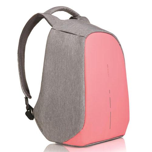 Женский рюкзак антивор XD Design Bobby Compact розовый