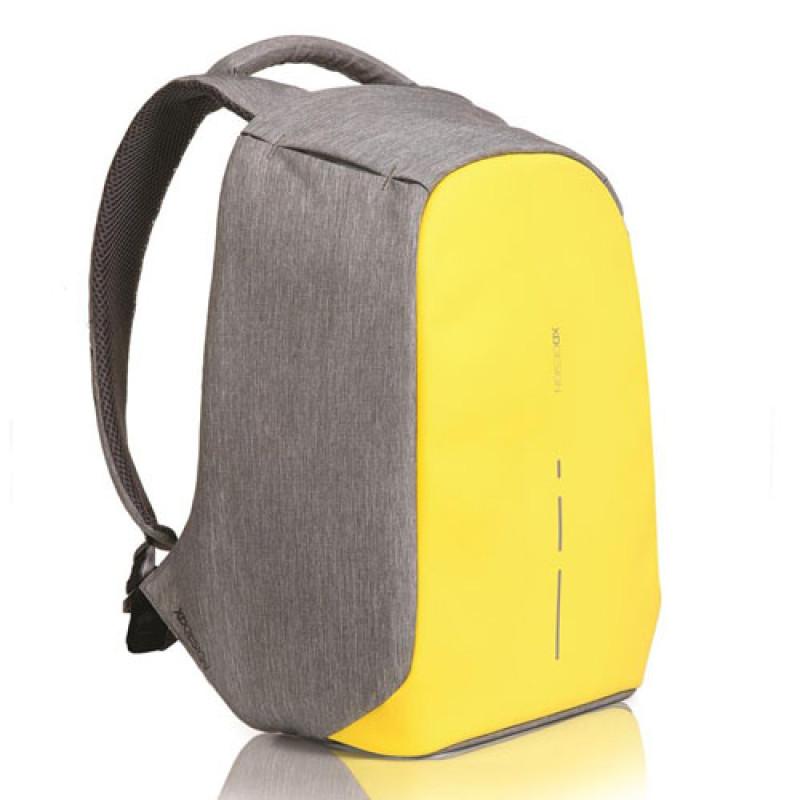 Оригинальный рюкзак Anti-Theft XD Design Bobby Compact Желтый
