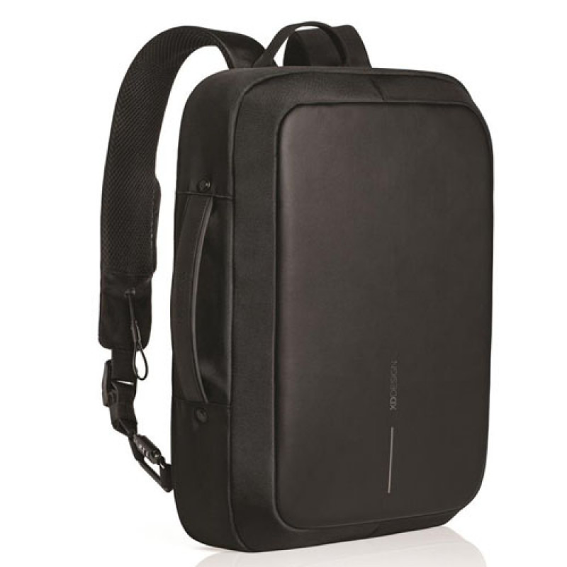 Строгий городской рюкзак антивор с выходом USB XD Design Bobby Bizz