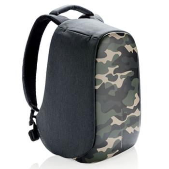 Зеленый рюкзак против краж XD Design Bobby Compact Camouflage class=