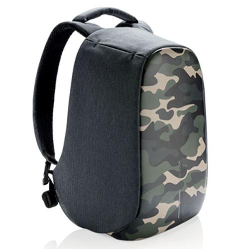 Зеленый рюкзак против краж XD Design Bobby Compact Camouflage