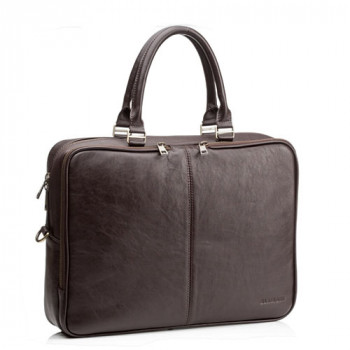 Коричневая мужская сумка Blamont натуральная телячья кожа class=