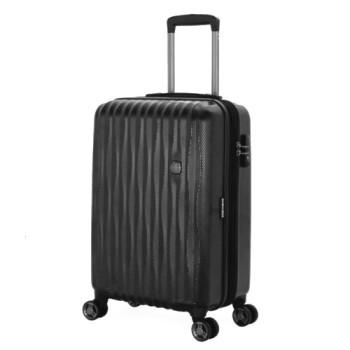 Пластиковый чемодан на колесах 19