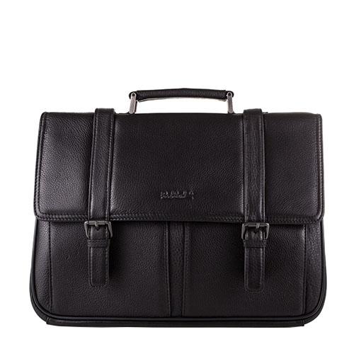 Мужской кожаный портфель с кодовым замком