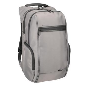 Деловой рюкзак серого цвета с отделением для ноутбука 15,6 дюйма class=