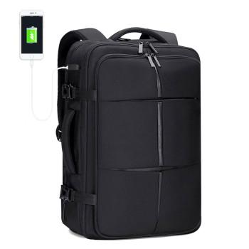 Рюкзак для путешествий черный class=