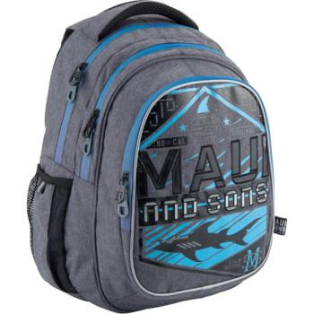 Рюкзак подростковый серый Kite ake'n'Go class=