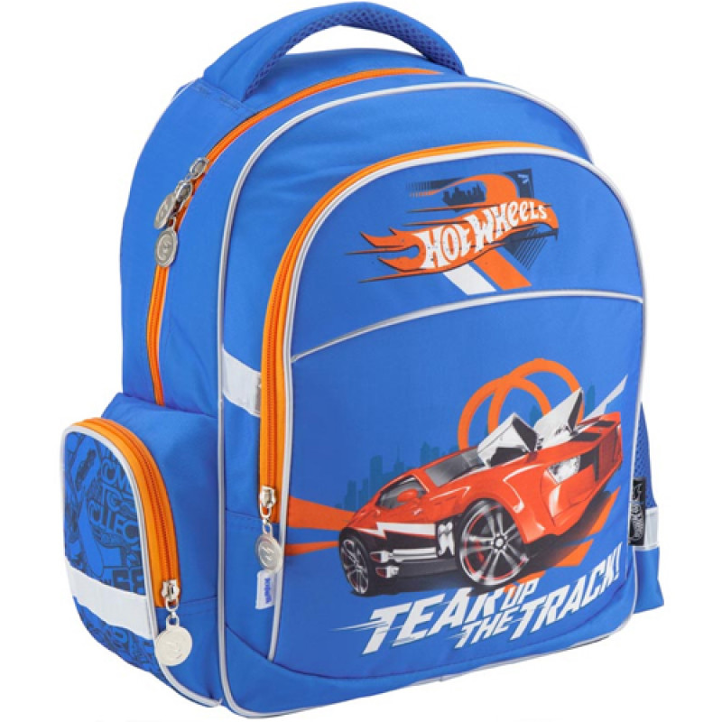 88f81545d44f Купить Рюкзак школьный Kite Hot Wheels для мальчика младшей школы в ...