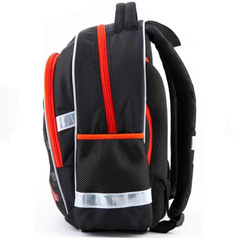d04c6dd202b4 ... Школьный рюкзак Kite Speed racer черного цвета для мальчика ...