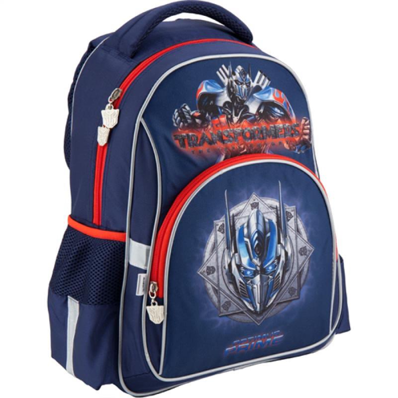 c6158eab5380 Синий рюкзак школьный Kite Transformers для мальчика начальной школы ...
