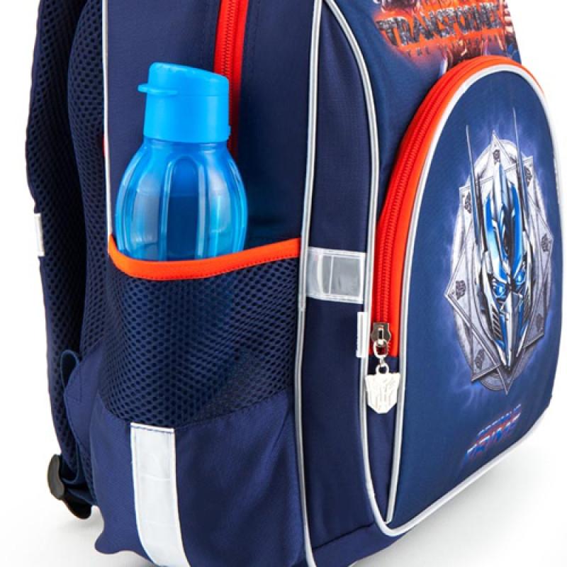 3499e90af8b8 ... Синий рюкзак школьный Kite Transformers для мальчика начальной школы ...