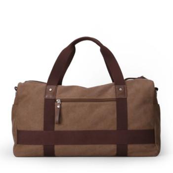Мужская дорожная сумка в ретро стиле через плечо class=