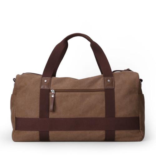 Мужская дорожная сумка в ретро стиле через плечо