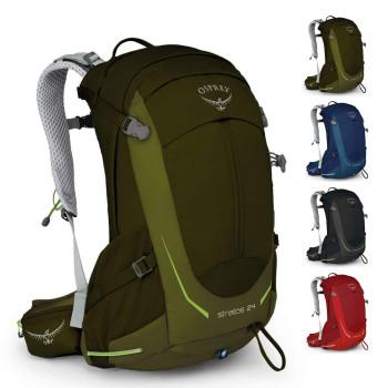 Трекинговый рюкзак с вентилируемой спиной 24 л class=