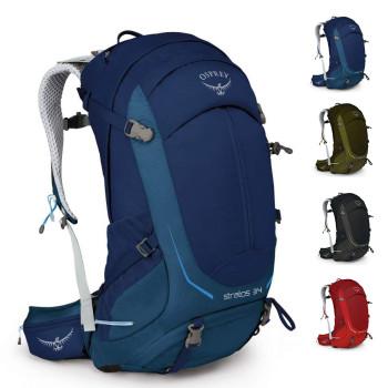 Трекинговый рюкзак с вентилируемой спиной 34 л class=