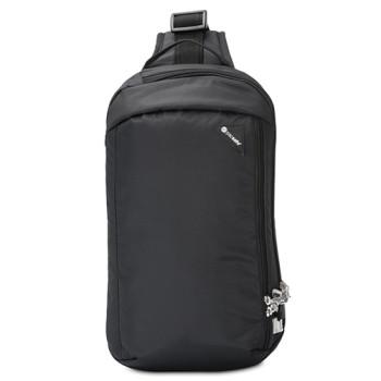 Однолямочная сумка через плечо с ситемой антивор Vibe 325 черная class=