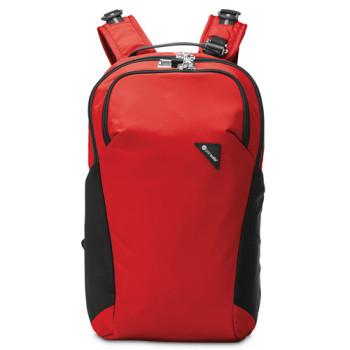 Рюкзак с максимальной защитой от карманников Vibe 20 красный class=